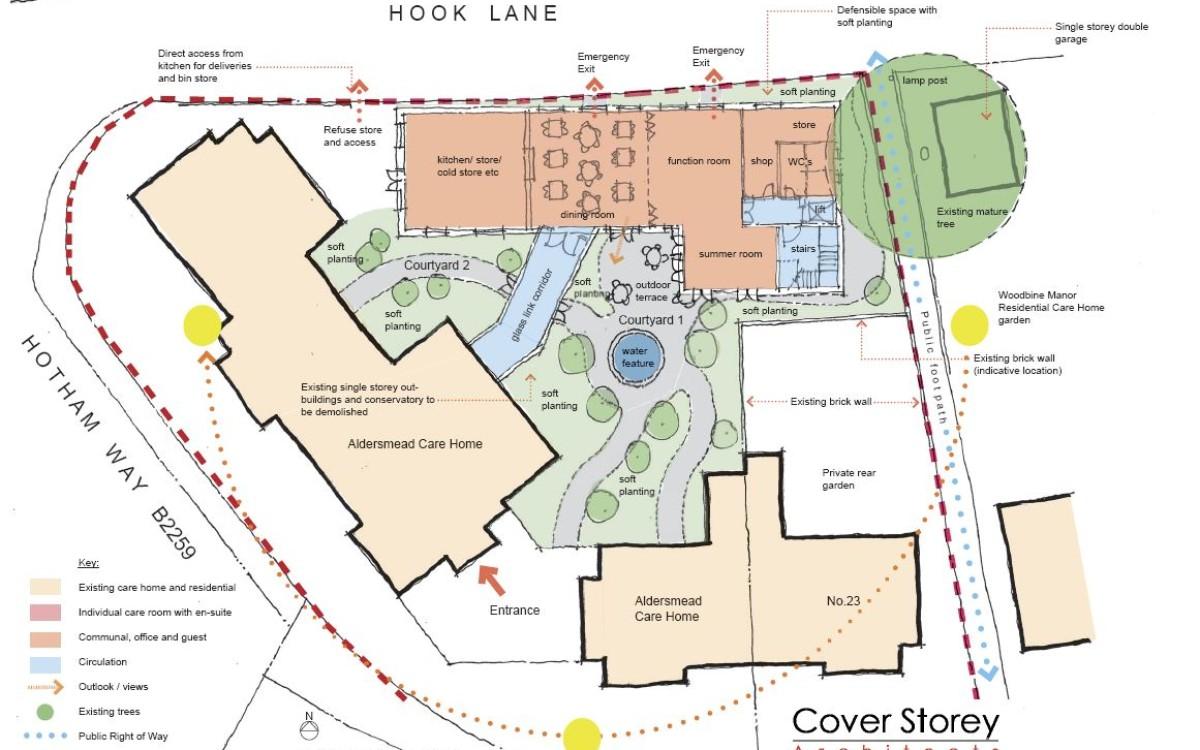 Sketch scheme ground floor proposals