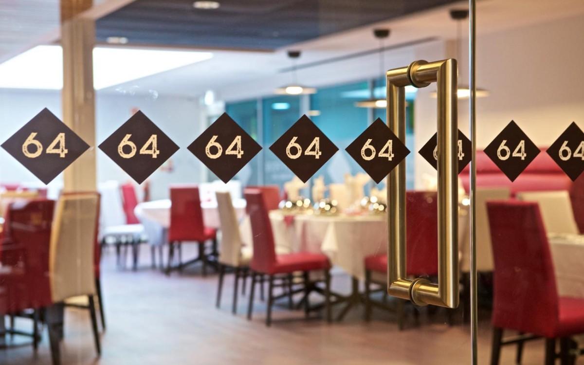 The 64 Restaurant branding